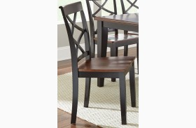 Rani Two-Tone Side Chair Set of 2