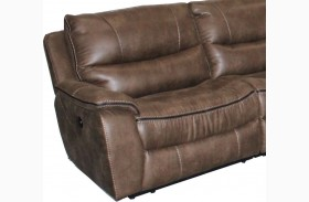 Remus Mocha LAF Power Reclining Chair
