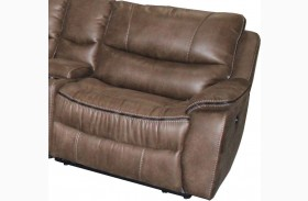 Remus Mocha RAF Power Reclining Chair