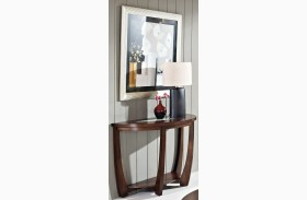 Rafael Merlot Cherry Sofa Table