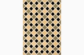 Windel Small Black & Sage Area Rug