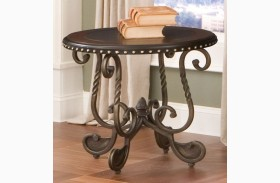 Rosemont Medium Cherry End Table