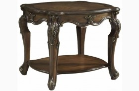 Rochelle Chestnut End Table