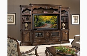 Rochelle Chestnut Entertainment Wall Unit