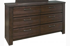 Ruff Hewn Brown Drawer Dresser