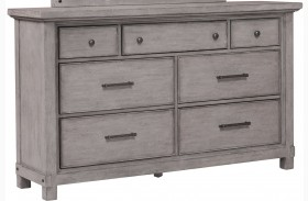 Prospect Hill Gray Drawer Dresser