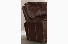 Salinger Maple Power Recliner