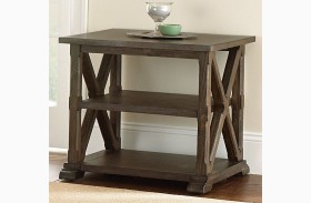 Southfield Weathered Pine End Table