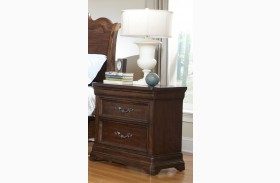 Signature Two Drawer Nightstand