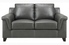 Sienna Dark Gray Loveseat