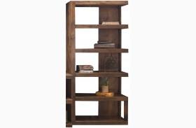 Sausalito Whiskey Right Bookcase