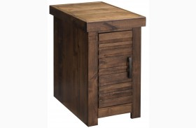 Sausalito Whiskey Chair Table with Door