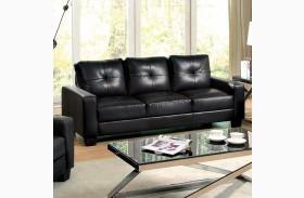 Bonsallo Black Sofa