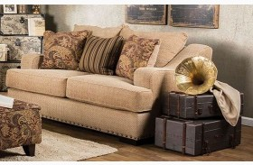 Arklow Tan Loveseat