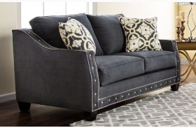 Crescenzo Charcoal Loveseat