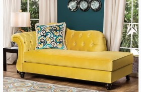 Antoinette Royal Yellow Chaise