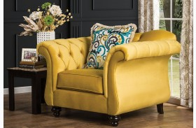 Antoinette Royal Yellow Chair
