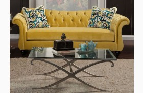 Antoinette Royal Yellow Sofa