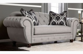 Viviana Gray Loveseat