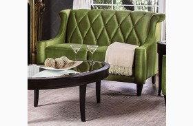Limerick Green Loveseat