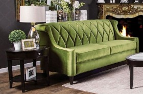 Limerick Green Sofa