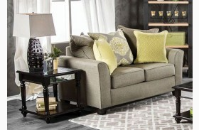 Macroom Gray Loveseat