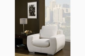Tekir White Chair