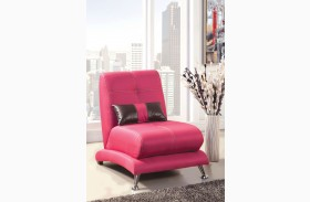 Artem Fuchsia Fabric Chair