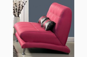 Artem Fuchsia Fabric Loveseat