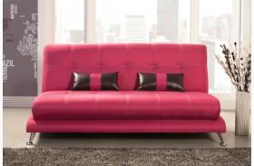 Artem Fuchsia Fabric Sofa