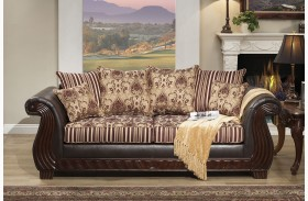 Rutherford Wine Sofa