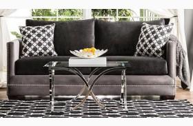 Mobridge Black and Gray Sofa
