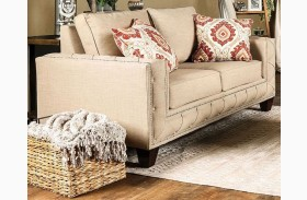Norwick Beige Loveseat
