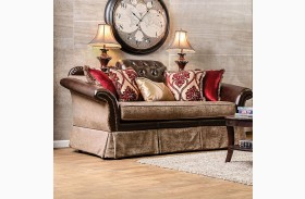 Kinsale Brown Loveseat