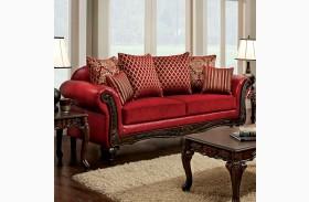Marcus Red Sofa