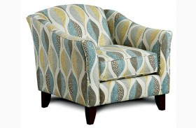 Brubeck Leaf Pattern Chair