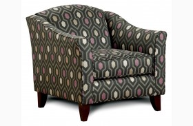 Coltrane Gray Fabric Chair