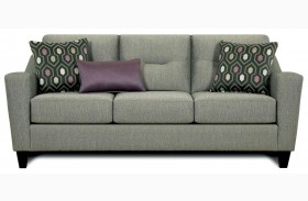 Coltrane Gray Fabric Sofa