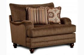 Adderley Brown Chair & A Half