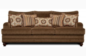 Adderley Brown Sofa