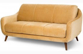 Studio Brussels Gold Upholstered Sofa