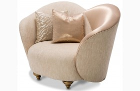 Studio Camelia Bright Gold Chair and A Half