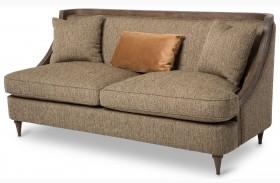 Studio Dallas Haze Wood Trim Sofa