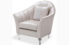 Studio Maritza Gray Channel Back Chair