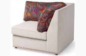 Studio Sacramento Cream Corner Chair