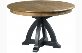 Stone Ridge Extendable Round Dining Table