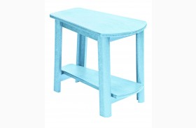 Generations Aqua Tapered Accent Table