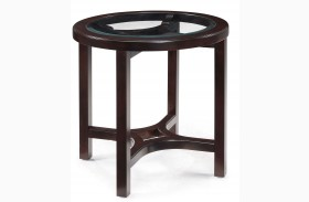Juniper Round End Table