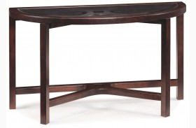 Juniper Demilune Sofa Table