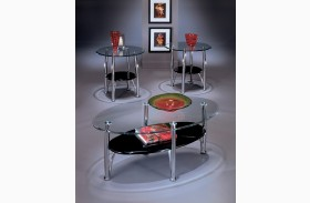 Dempsey Metal 3 Piece Coffee Table Set